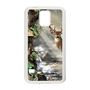 Deer Print Design Hard Case Cover Protector For Samsung Galaxy S5