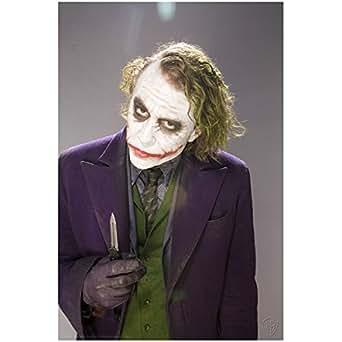 Batman: The Dark Knight Heath Ledger is The Joker Serious