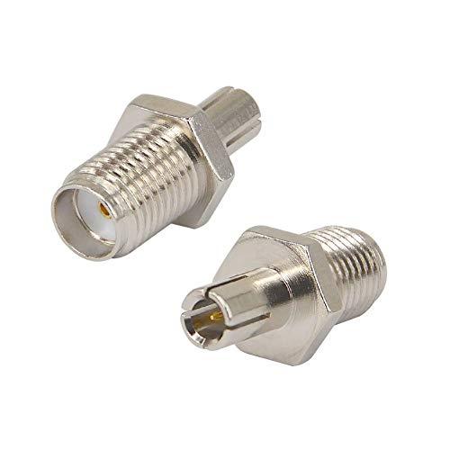 Gimax Nickelplated Straight SMA Female Plug to TS9 Male Plug Connector Adapter for ZTE 3G USB Modem/Sierra Wireless USB MODEM