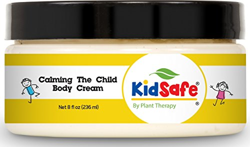 Plant Therapy KidSafe Calming the Child Body Cream 8 oz Aromatherapy Natural Base
