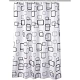 Square Printing Waterproof Shower Curtain 180 cm X 200 cm