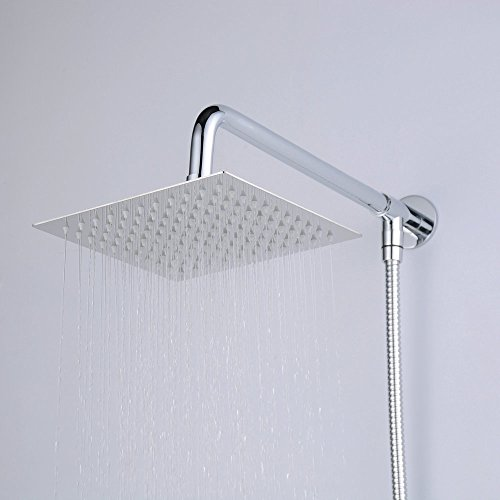 Chrome Shower Head And Hose - Mobroi.com