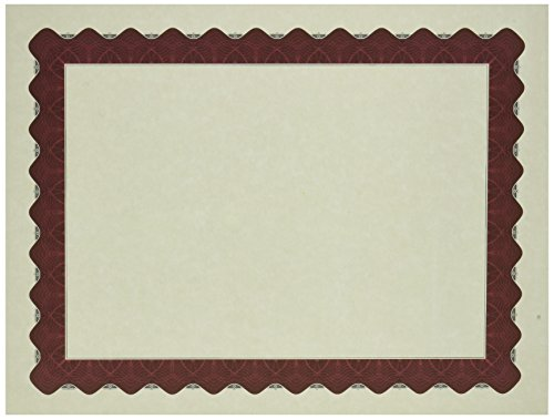 Great Papers! Metallic Red Certificate, 8.5 x 11 Inches, 25 Count (934125) ()
