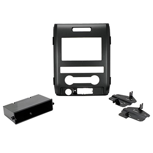 SCOSCHE FD1438B 2009-12 Ford F-150 XL Double DIN or DIN w/pocket Install Dash Kit -