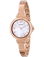 Bulova Womens 97L137 Stainless Steel Watch