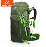 Maleroads Sport Backpack Professional Mountaineering Bag Men Women Hiking Camping Backpack Travel Climbing Bag Brand Quality 45L (Army Green)
