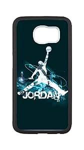 Michael Jordan Case for Samsung Galaxy S6,Air Jordan - logo phone Case for Samsung Galaxy S6.