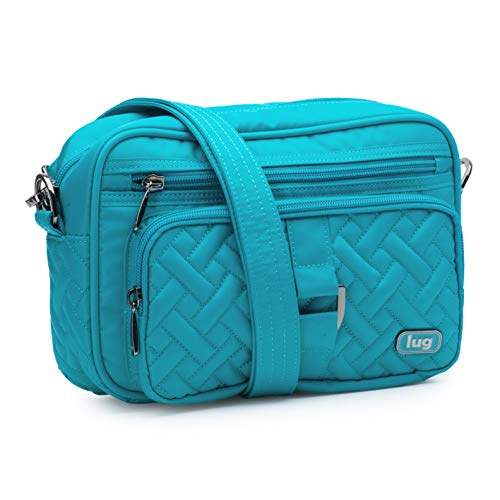 Lug Women's Carousel, Aqua Teal Cross Body Bag, One -