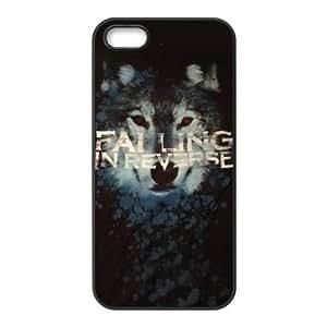 FEEL.Q- Unique Custom TPU Rubber iPhone 5/5S Case Cover - Falling In Reverse