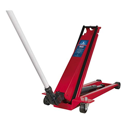 Sealey 2200HL 2 Tonne High Lift Low Entry Trolley Jack, 490mm x 1100mm x 250mm