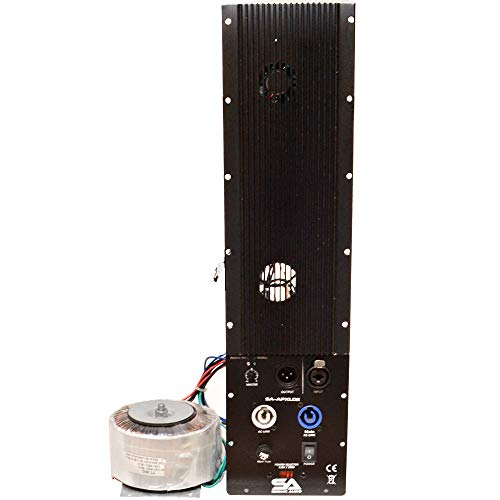 Seismic Audio - SA-APXL02-300 Watt Plate Amplifier for Line Array Cabinets with Satellite Power Input Output - 4 Ohm Class AB Replacement Amp