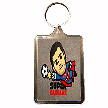Footie Gifts Real Madrid - Llavero (Super Casillas): Amazon ...