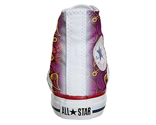 Converse All Star Customized - zapatos personalizados (Producto Artesano) Decor Paisley