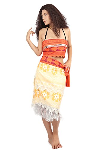 Women Cosplay Moana Waialiki Costume