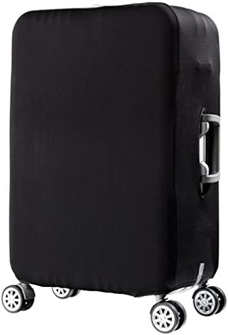 LEISISI Cubes Alphabet Wooden Shape Protector Cover Elastic Suitcase Cover Luggage Cover Protector XL 31-32 inch