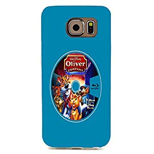 Samsung Galaxy S6 Edge Case Fantastic Lovely Oliver & Company 3D Back Protector Phone Case