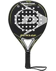 Dunlop Renegade Padelracket + overgrip, beste racket en rackets voor mannen, vrouwen en kinderen, rackets met hoge controle en frame van carbon.