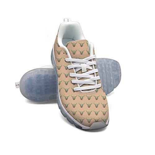 Cerf Triangle Faaerd La Mode Des Hommes Léger Chaussures De Sport De Coussin Dair Mesh Chaussures De Sport