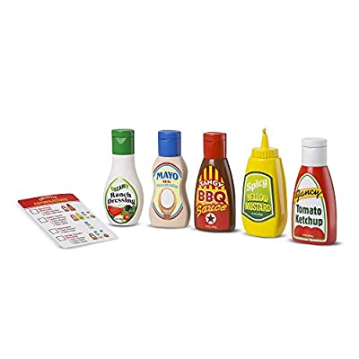 Melissa & Doug Favorite Condiments: Toys & Games