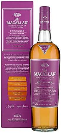 The Macallan EDITION N° 5 Highland Single Malt Scotch Whisky 48,5% - 700 ml in Giftbox