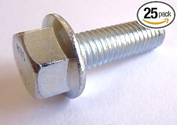 Flange Bolt METRIC M8 8mm X 1.25 x 25 course 7 grade