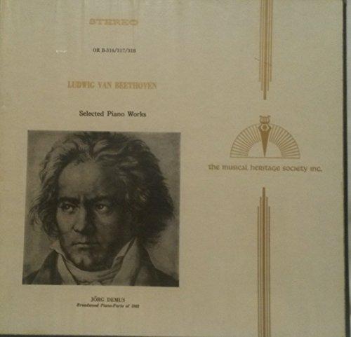 Ludwig Van Beethoven: Selected Piano Works / Jorg Demus, Broadwood Piano-Forte of 1802