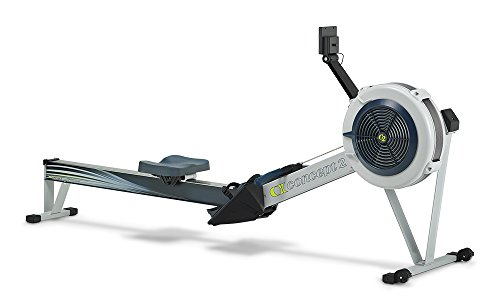 Concept2 Model D PM5 Performance Monitor Indoor Rower Rowing Machine Gray