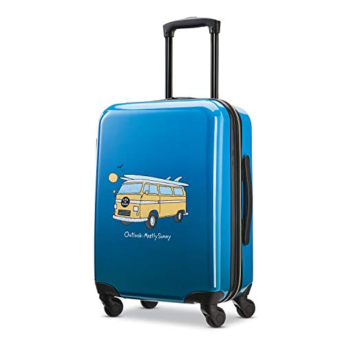 American Tourister Life is Good Hardside Luggage with Spinner Wheels, Van, Carry-On 20-Inch