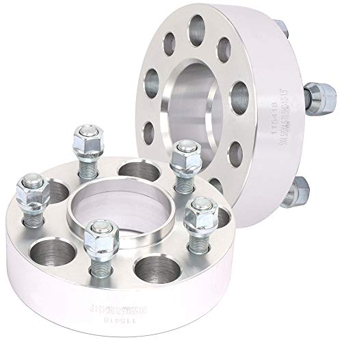 - ECCPP Replacement for 4X 1.5 5 Lug hubcentric Wheel Adapter Spacer 5x4.5 to 5x4.5 fits for Ford Lincoln Mazda Mercury Series with 1/2