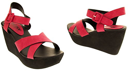 Studio Footwear Ladies Wedge Talons Sandales Betsy Rose fTwg6dqTUr