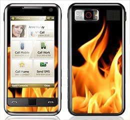 Flame Skin for Samsung Omnia i900 and i910 Phone