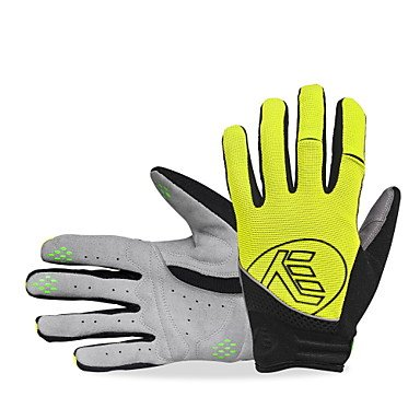 ホイール自動化心配するPinchu NUCKILYスポーツグローブタッチグローブバイクグローブ/サイクリング手袋防水反射防風耐紫外線性湿気
