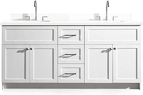 ARIEL Double Bathroom Vanity Cabinet