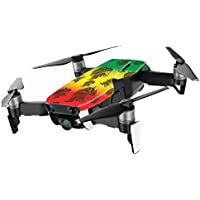 MightySkins Skin for DJI Mavic Air Drone - Rasta Lion | Min Coverage Protective, Durable, and Unique Vinyl Decal wrap cover | Easy To Apply, Remove, and Change Styles | Made in the USA
