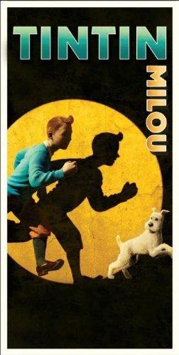 Serviette De Plage Tintin.Tintin Serviette De Bain Ou Drap De Plage 76 X 152 Cm