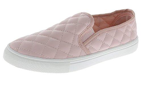 W Slip De Collection Sur Les Baskets Mode Matelassées Semelle Blanche Chaussures Bout Fermé Blush