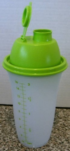 (Tupperware Quick Shake Mixer Blender NEW Lime Green)