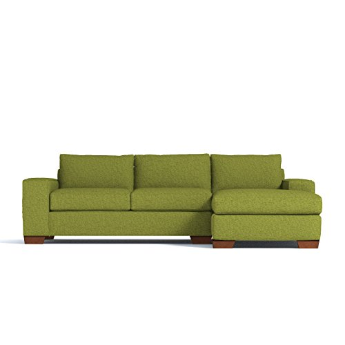 APT2B Melrose 2 Piece Sectional Sofa, Right Arm Facing, Gree