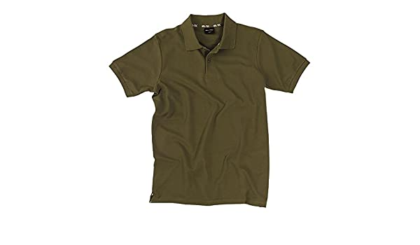 Miltec - Polo - para hombre verde oliva XL: Amazon.es: Ropa y ...