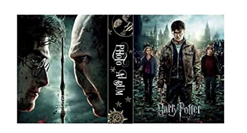Harry Potter Deathly Hallows 200 Picture Photo Album 4x6 - Monogram Photo Album