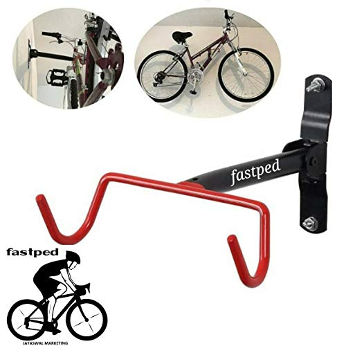 FASTPED® Cycle Stand Mountain Bike Cycle Wall Mount Stand Storage Rack (B07N5HVT7F) Amazon Price History, Amazon Price Tracker