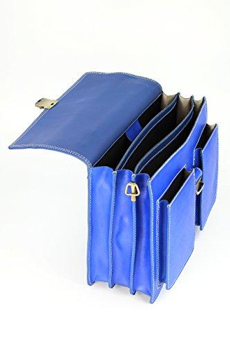 Cuir B En document Unisexe Belli® nbsp; Design Sacoche Porte Bag Italien qWO0nT