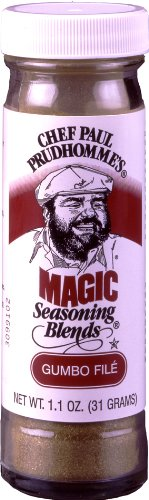 Magic Seasoning Blends Gumbo Fil7867;, 1.1-Ounce Bottles (Pack of 6)