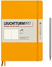 LEUCHTTURM1917 Rising Colors Special Edition - Medium A5 Dotted Softcover Notebook (Rising Sun) - 123 Numbered Pages