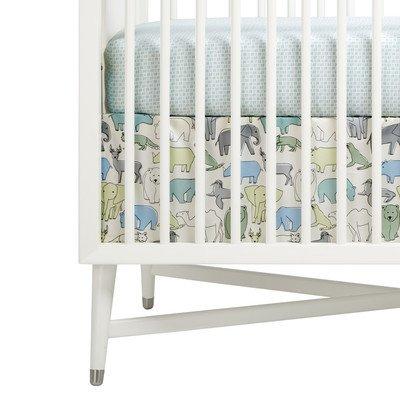 DwellStudio Caravan Crib Skirt - -