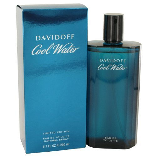 New Davidoff Cool Water EDT Spray - 6.7 Oz (Men) (Davidoff Cool Water Eau De Toilette Spray 200ml)