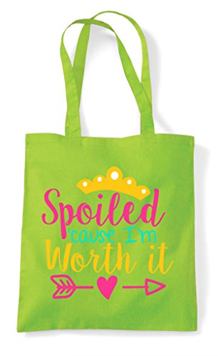 Worth Lime Shopper Tote Spoiled Bag And It pYqzX5x6w