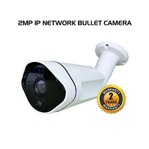 Ares Vision 2MP IP Network POE 3.6MM Bullet CCTV Camera, Sony Lens & Board w/IR Night Vision
