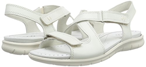 ECCO Footwear Womens Babett Cross Sandal Dress Sandal, Shadow White, 41 EU/10-10.5 M US Photo #8