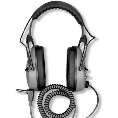 DetectorPro Gray Ghost Deep Woods Metal Detector Headphones by DetectorPro